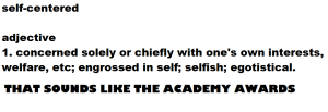 self centered