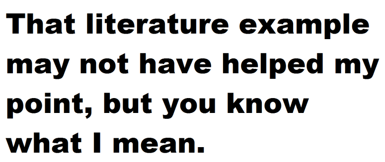 literature this blog needs movies