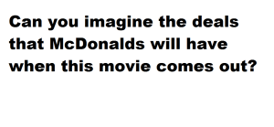 mcdonalds  this blog needs movies