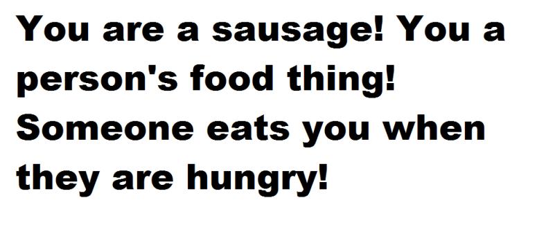 sausage this blog needs movies