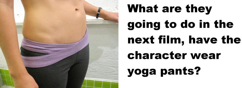 yoga pants this blog needs movies